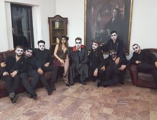 Petrecere tematica la Castel Dracula